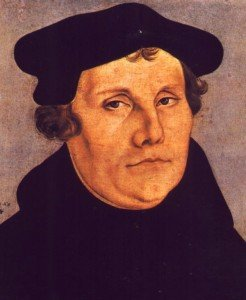 Picture of Reformer Martin Luther