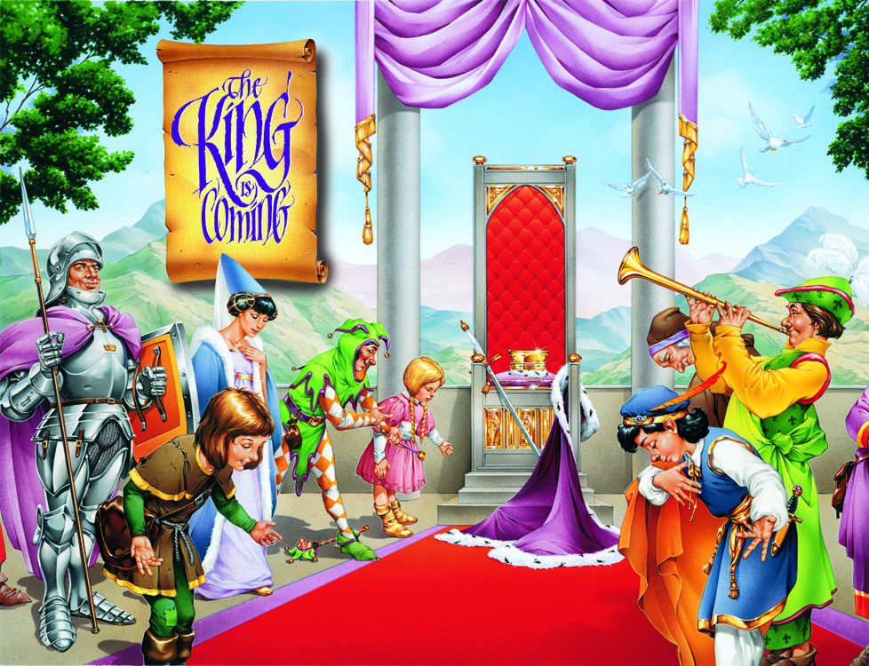 Join us at Trinity Presbyterian Church in Novato, from June 19-23 at Vacation Bible School as prepare for the coming of King Jesus. Ages 4-12.